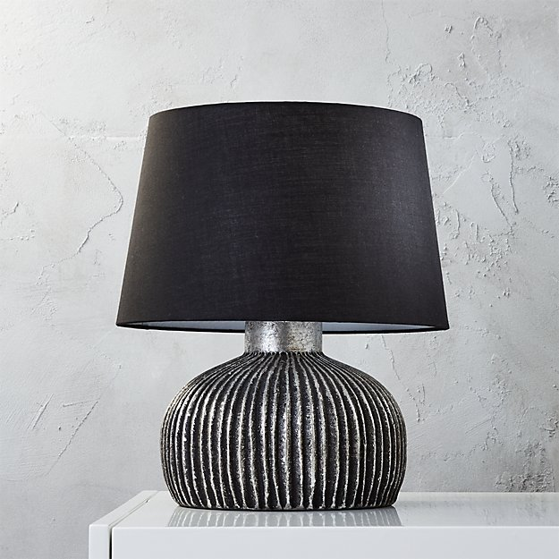 orca table lamp cb2. Black Bedroom Furniture Sets. Home Design Ideas