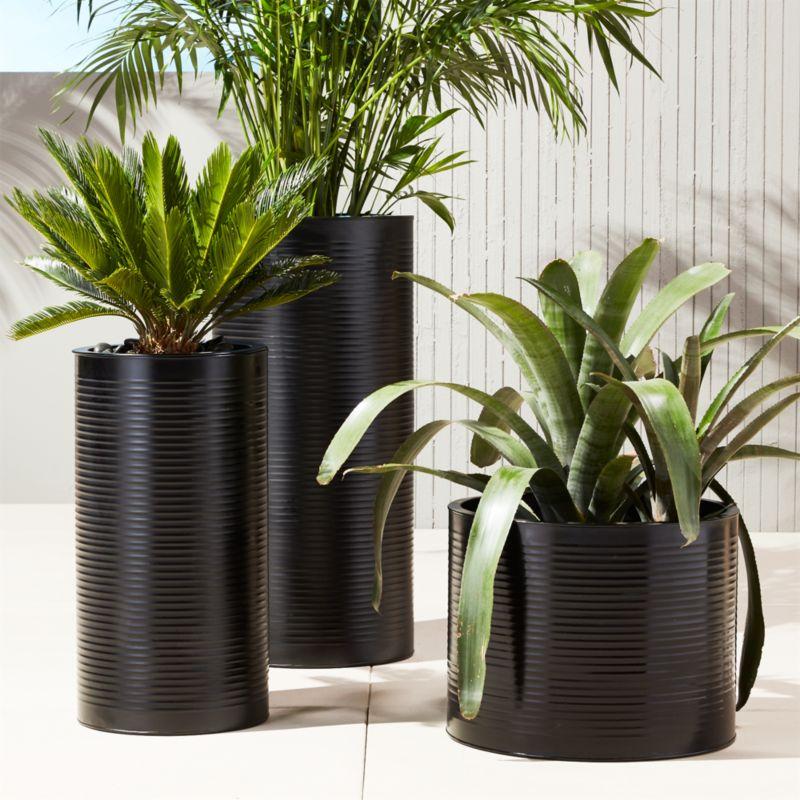 Modern Planters and Garden Pots | CB2