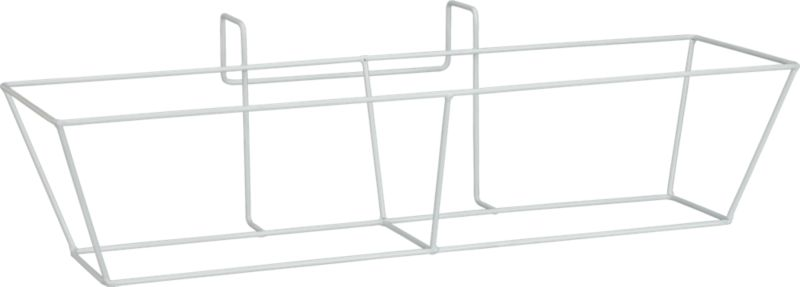 oscar rectangular metal rail frame