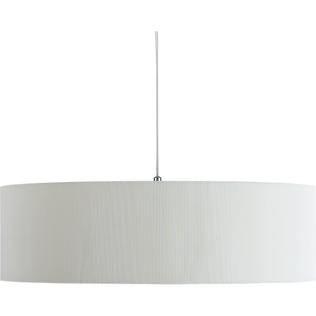 oversized equator pendant light