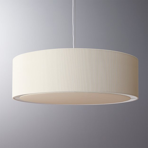 Oversized equator pendant light cb2 aloadofball Gallery