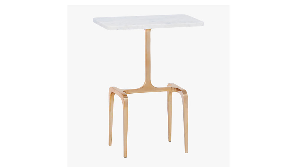 oxford marble side table