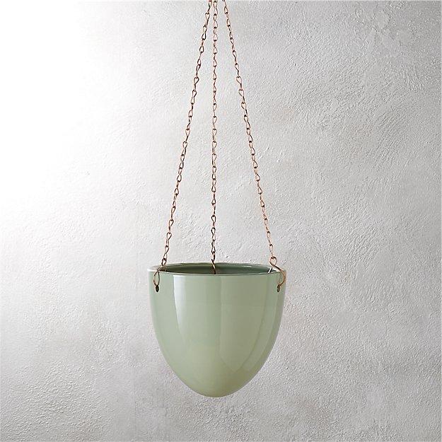 page hanging planter