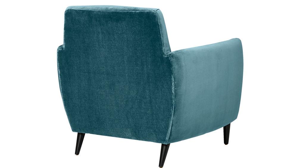Parlour Cyan Blue Chair
