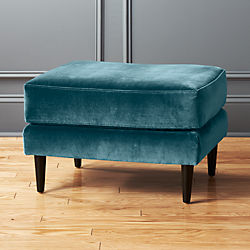 Modern Ottomans and Storage Benches CB2