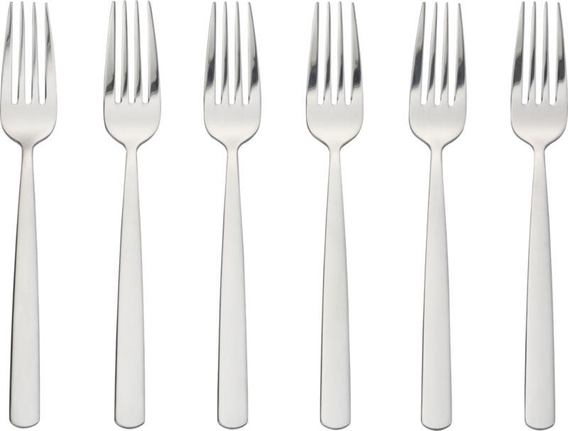 set of 6 party forks