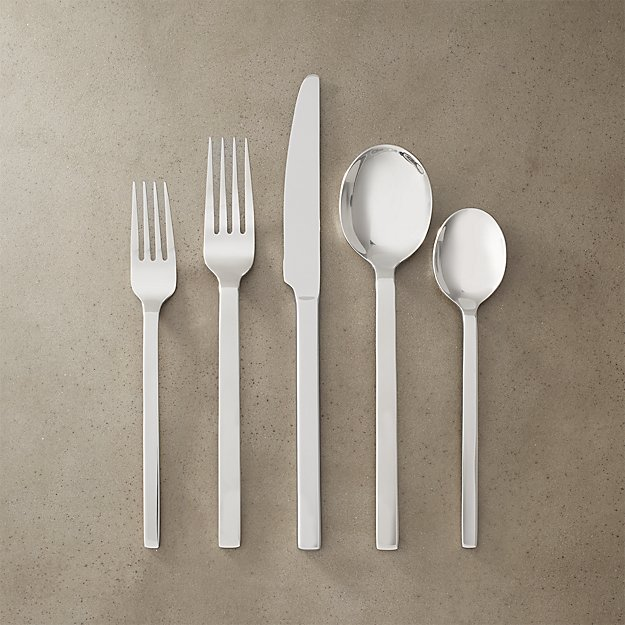20-piece pattern 518 flatware set