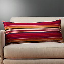 """36""""x16"""" patzite pillow with down-alternative insert"""
