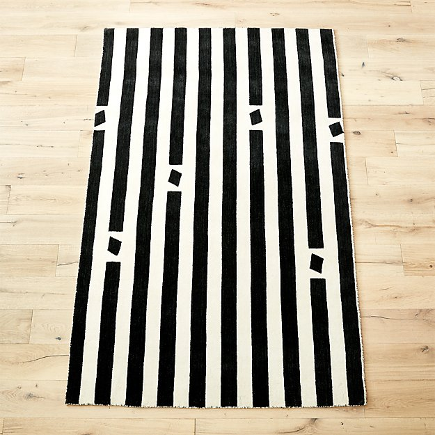 pause handloomed rug