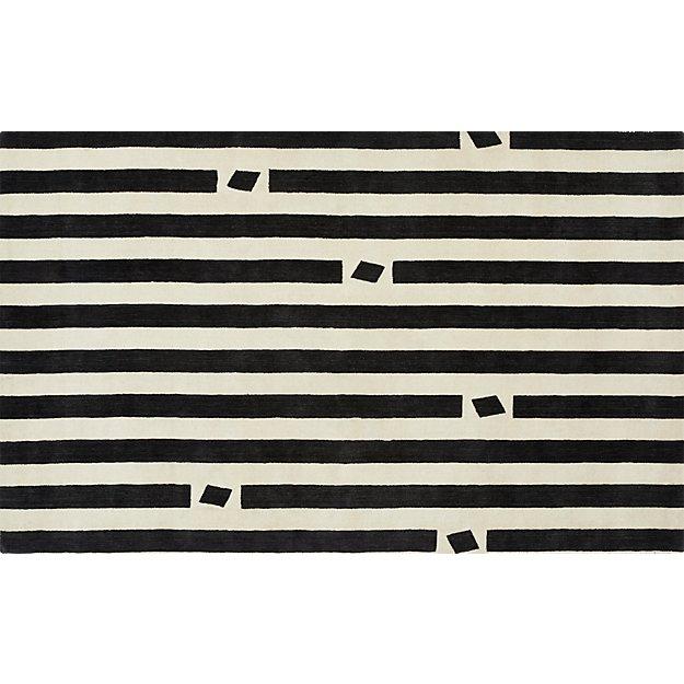 pause handloomed rug 5'x8'