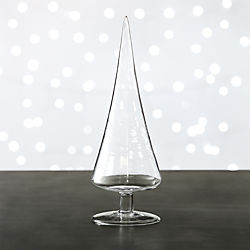 Paz Medium Clear Glass Tree