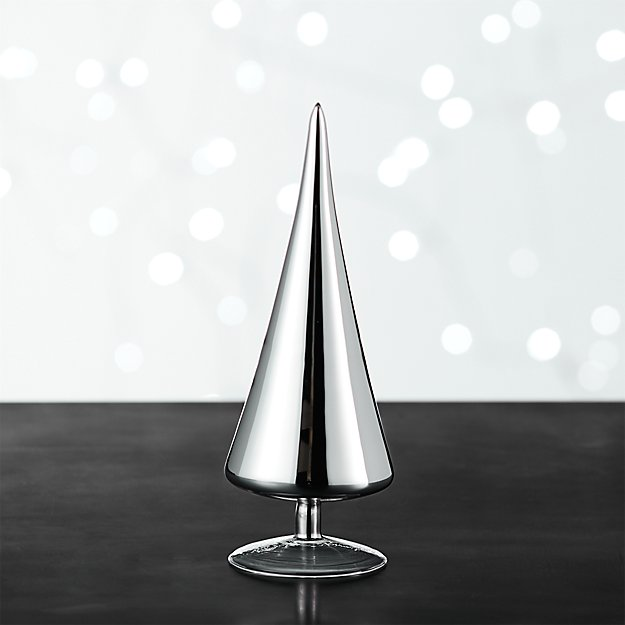 Paz Small Silver Glass Tree