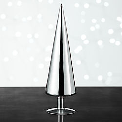 Paz Extra Large Silver Glass Tree