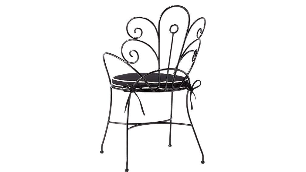 peacock chair with cushion