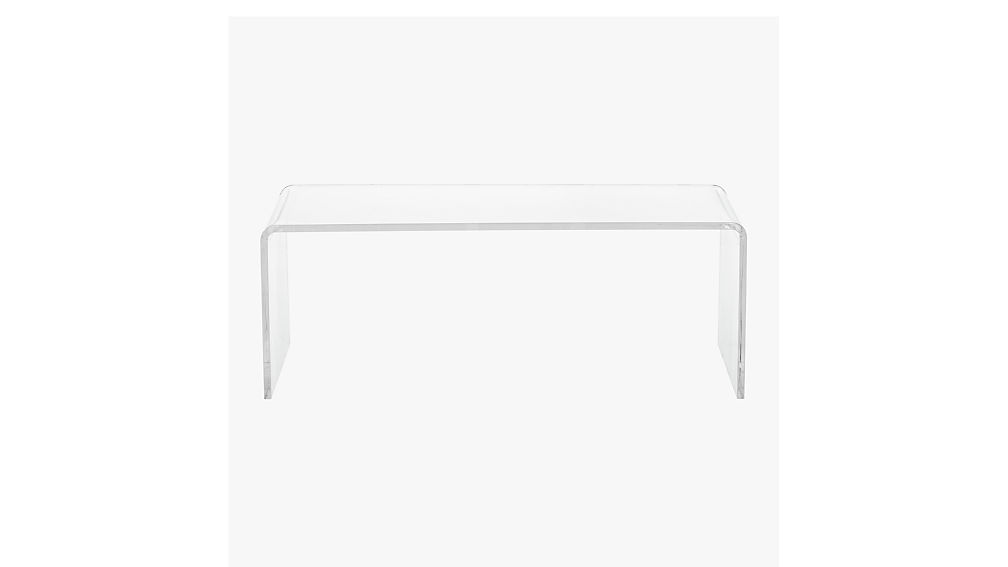 ... peekaboo acrylic coffee table ... - Peekaboo Acrylic Coffee Table CB2