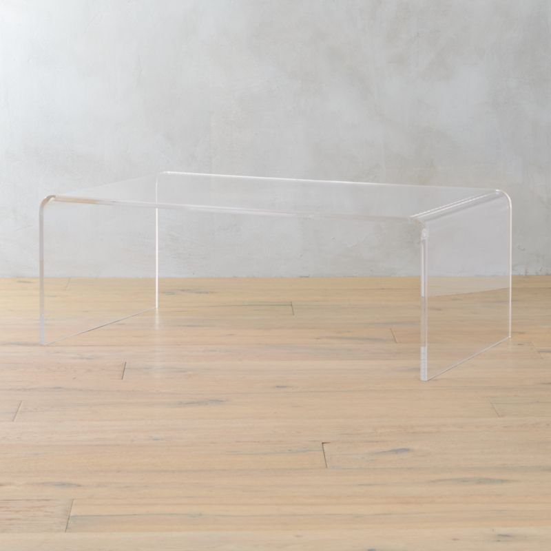 Bon Peekaboo Acrylic Coffee Table | CB2