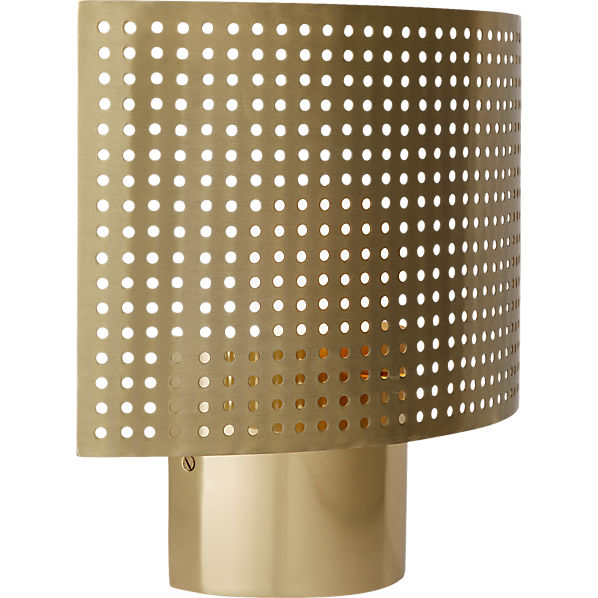 PerforatedWallSconceAV2F16