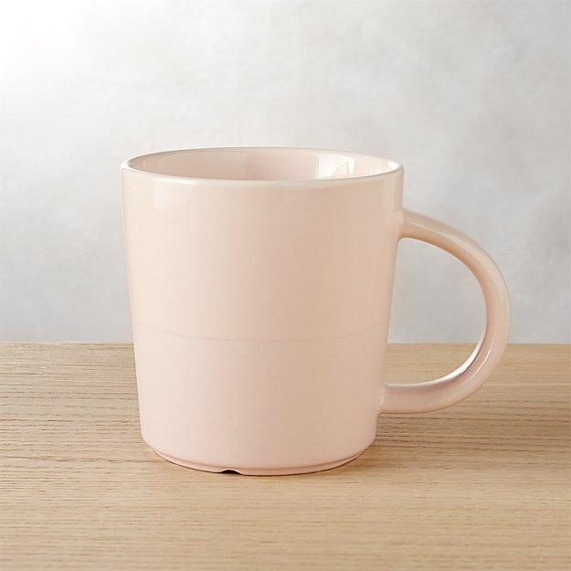 perk pink mug