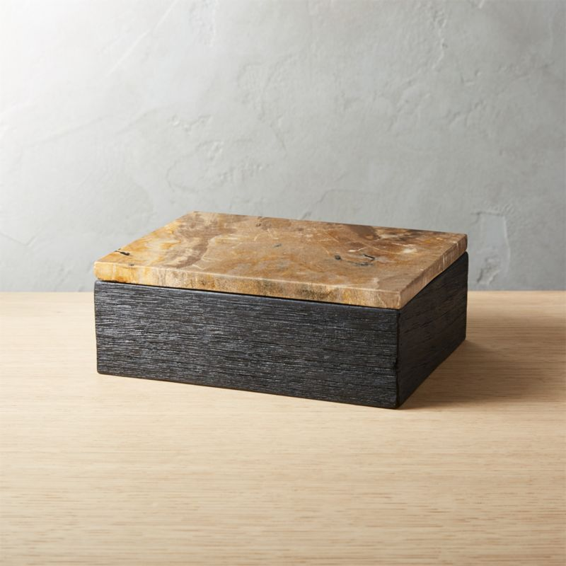 modern jewelry boxes CB2