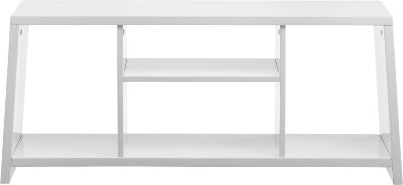 pezzo white storage unit-bench