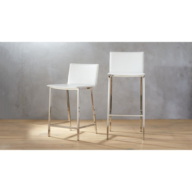 sc 1 st  CB2 : leather counter stools with backs - islam-shia.org