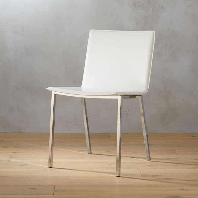 phoenix ivory chair | cb2