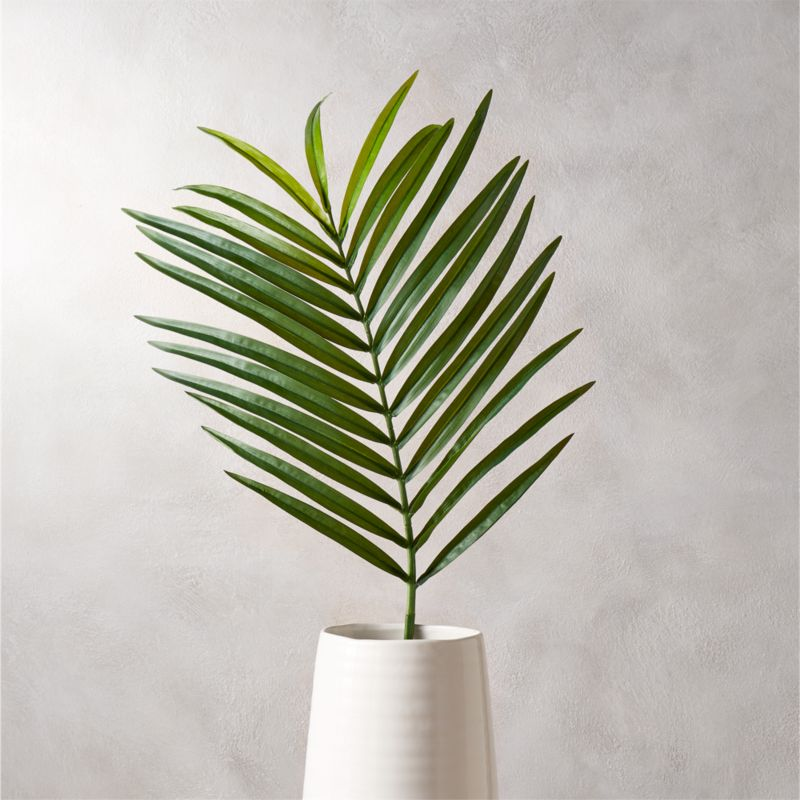 Palm Leaves In Tall Vase