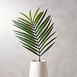 faux phoenix palm leaf