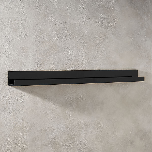PianoShelfBlack48inROF16