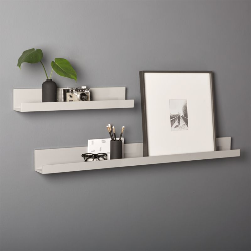 Slide View: 1: Modern Wall Shelf