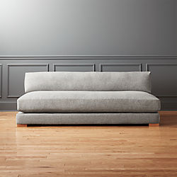 Piazza Steel Grey Sofa