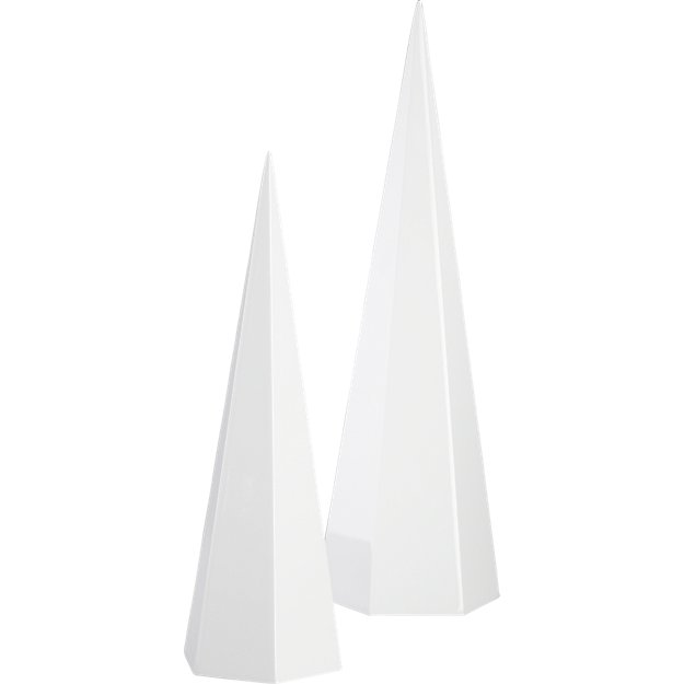 pillar-white-trees by crate&barrel