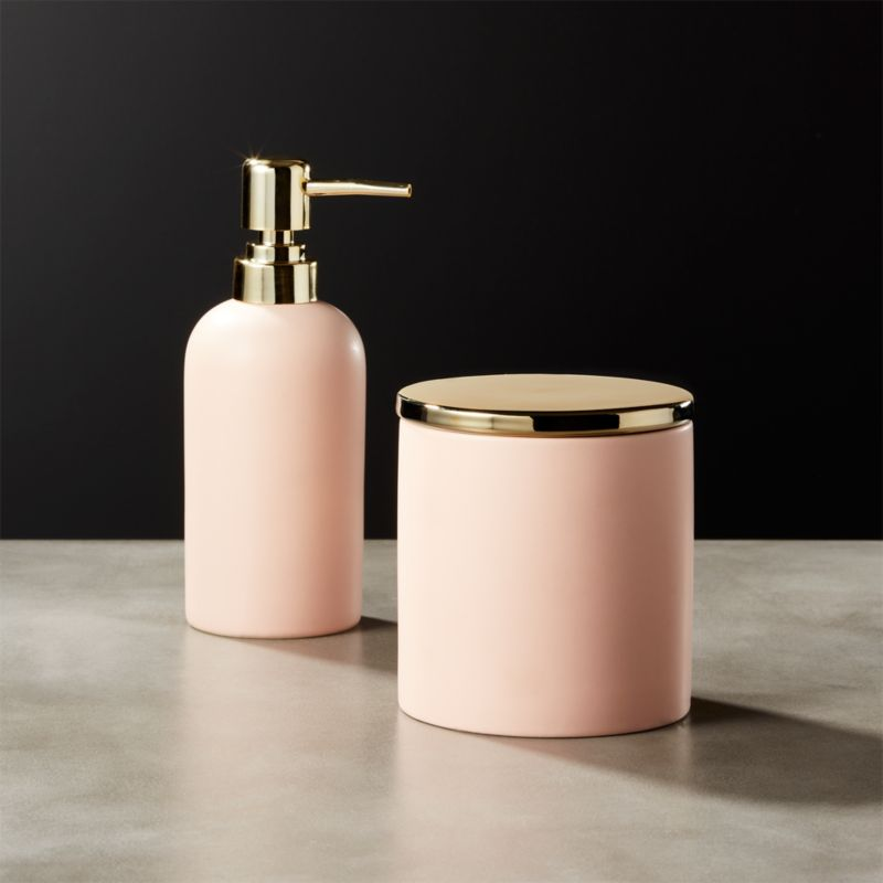 Pink Bath Accessories