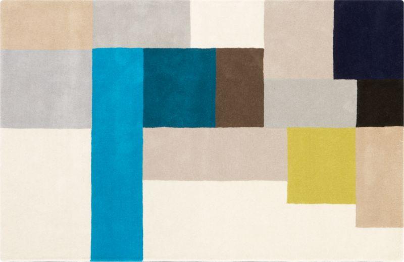 pixel rug 5'x8'
