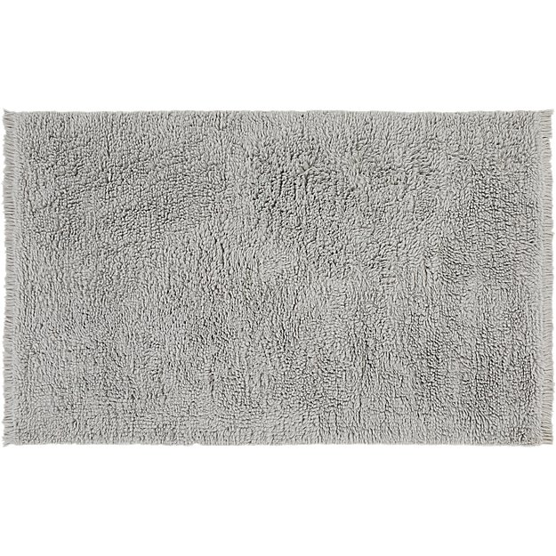 plush wool shag grey rug 8 39 x10 39 in rugs reviews cb2. Black Bedroom Furniture Sets. Home Design Ideas