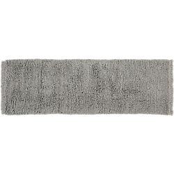 Plush Wool Shag Grey Runner 2.5'x8'.