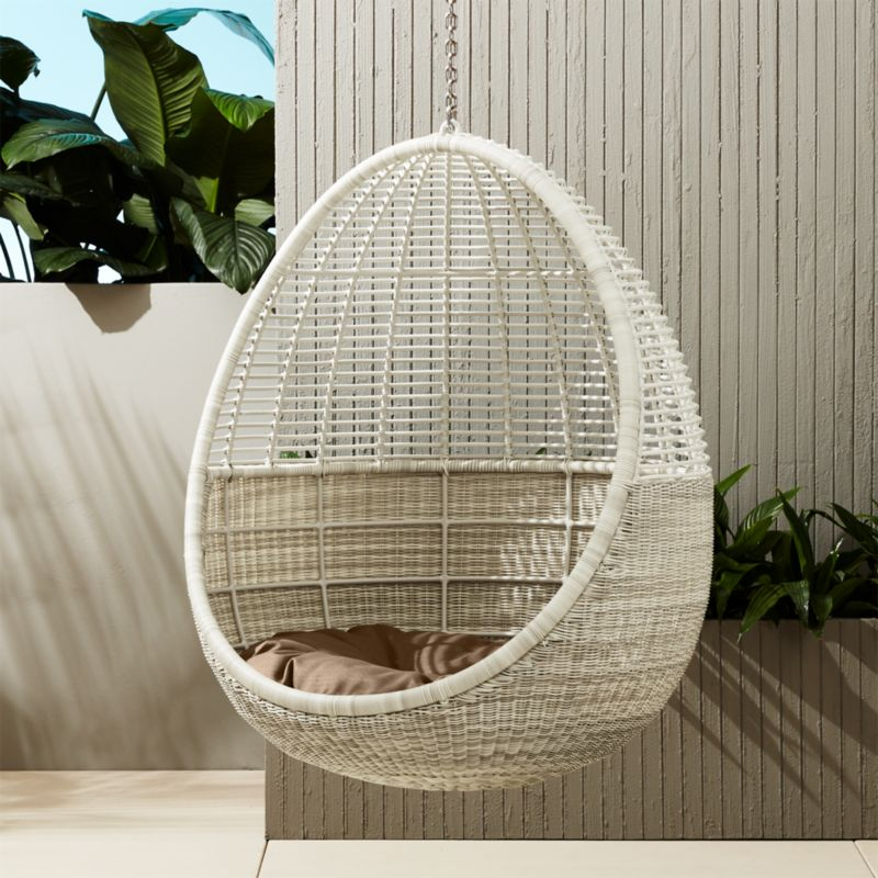 Pod Hanging Chair With Cushion Reviews Cb2 Iphone Wallpapers Free Beautiful  HD Wallpapers, Images Over 1000+ [getprihce.gq]