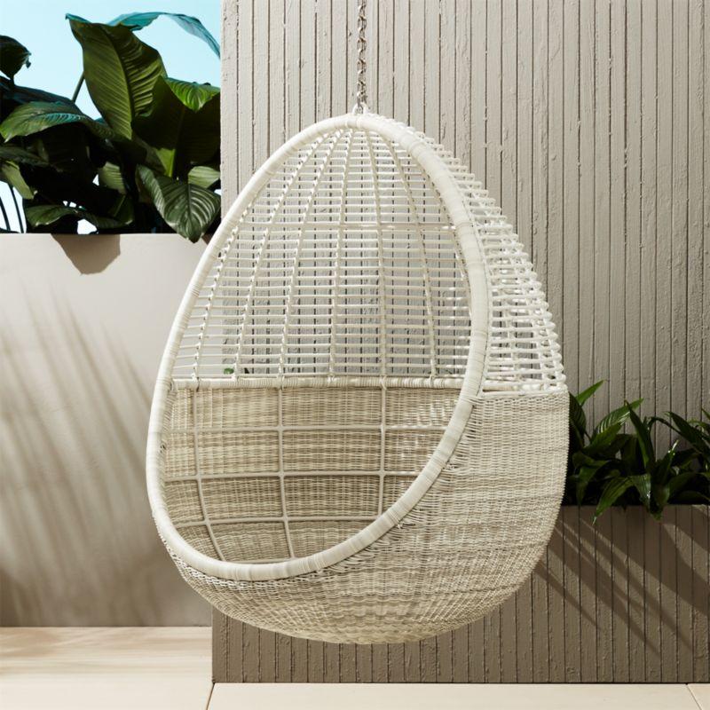 Pod Hanging Chair | CB2
