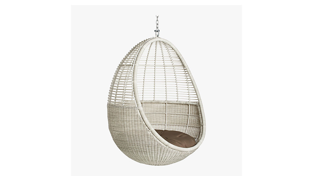 pod hanging chair cushion