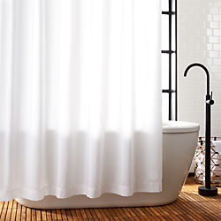 white shower curtain. Poly White Shower Curtain Liner