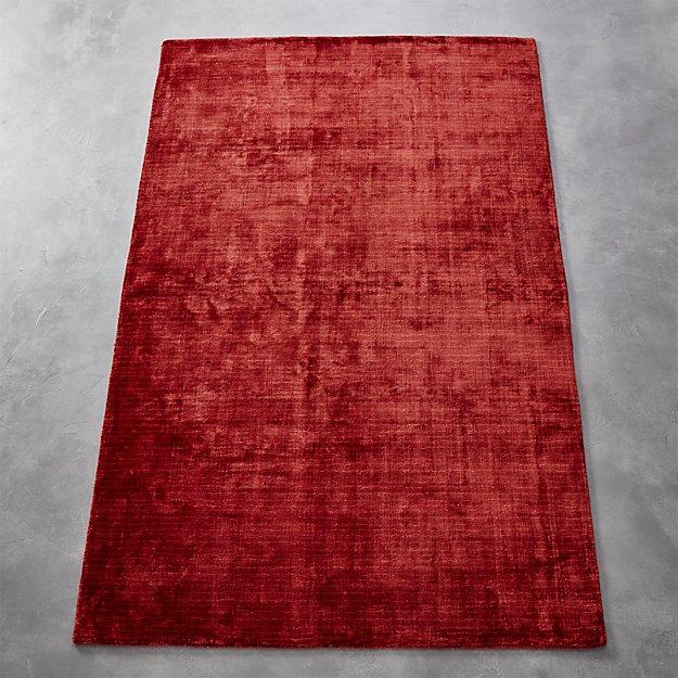 Posh Red Rug