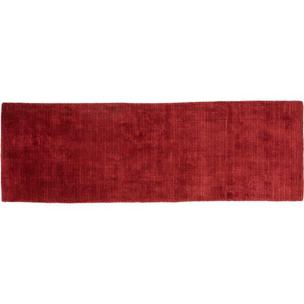 Posh Red Runner 2.5'x8'