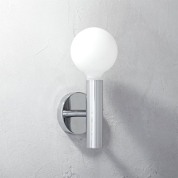 post wall sconce
