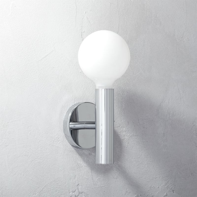 Klaffs Wall Sconces : post wall sconce CB2