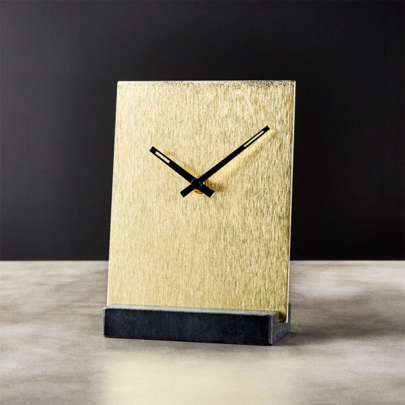 Modern Table Clocks. Tunnell Clock