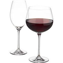 pour wine glasses