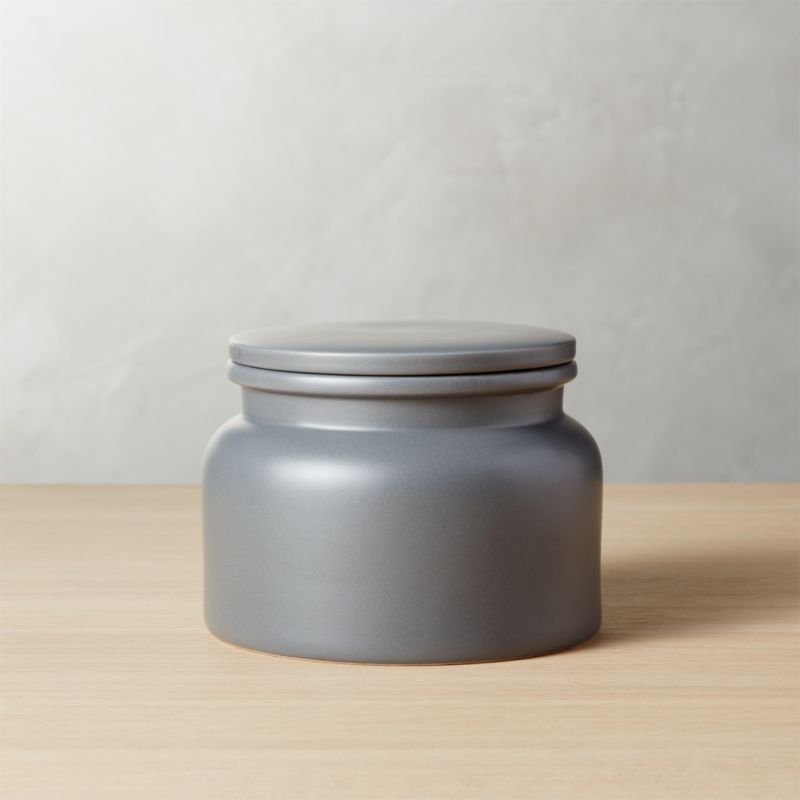 Prep Dark Grey Medium Canister