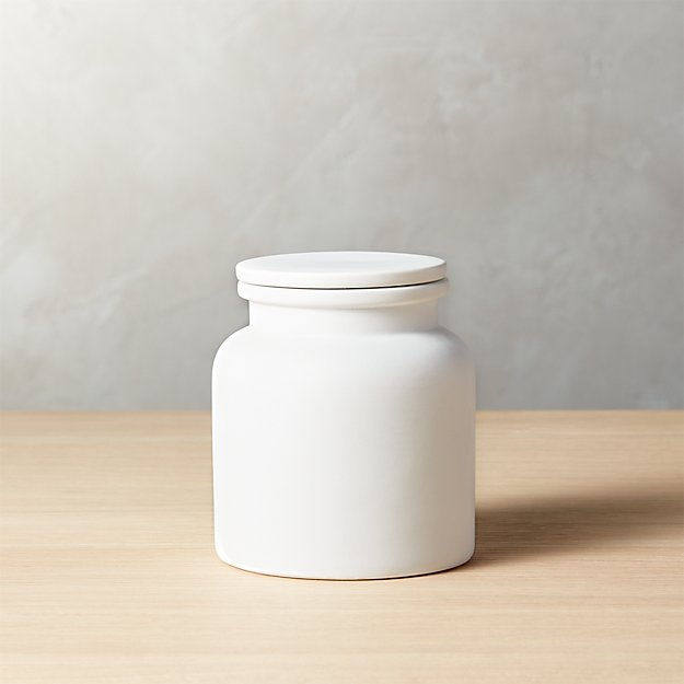 Prep Small White Canister
