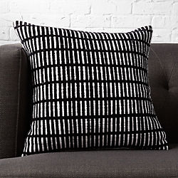 "prim 18"" pillow with down-alternative insert"