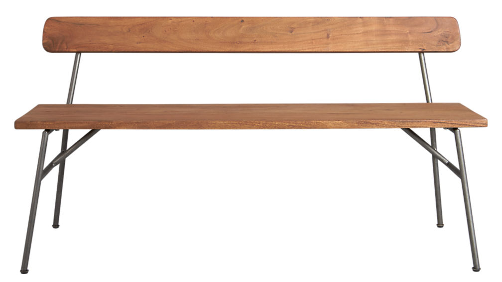 principle wood dining bench with back CB2 : principle bench from www.cb2.com size 1008 x 567 jpeg 36kB